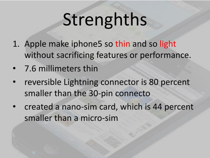 Strenghths