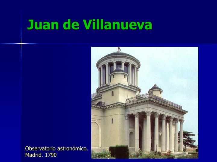 Juan de Villanueva