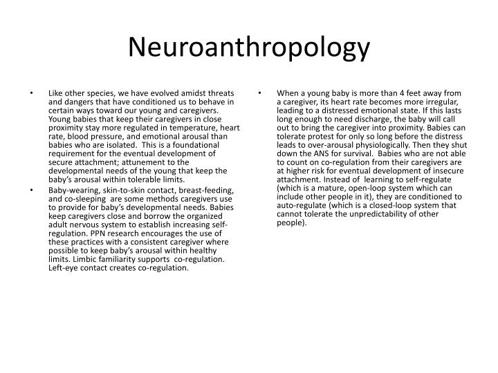 Neuroanthropology