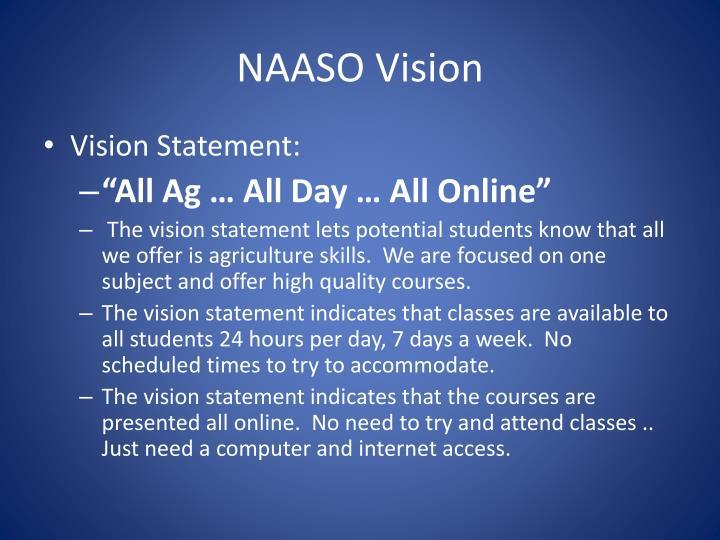 NAASO Vision