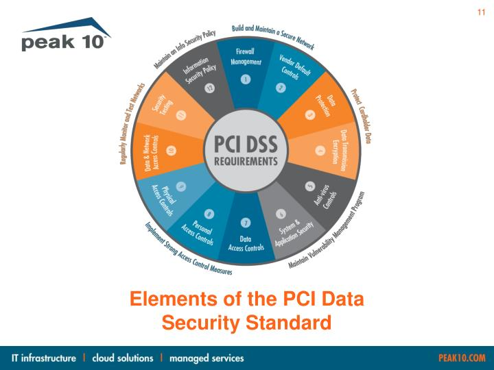 Elements of the PCI Data