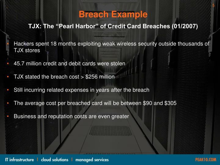 Breach Example