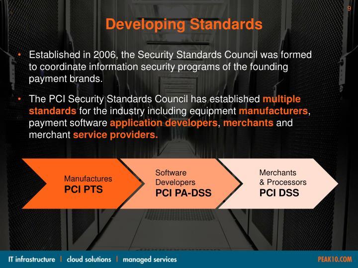 Developing Standards