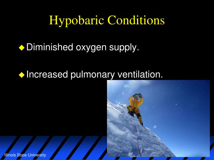 Hypobaric Conditions