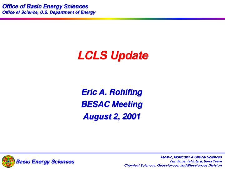 Office of Basic Energy Sciences