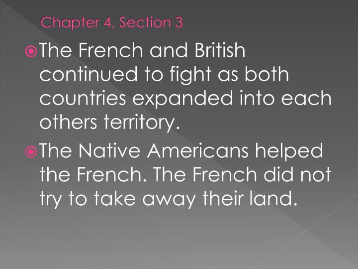 Chapter 4, Section 3