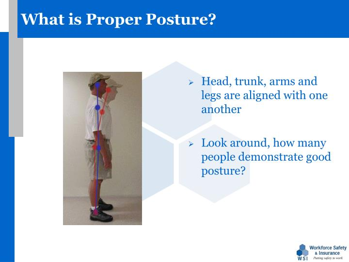 What is Proper Posture?
