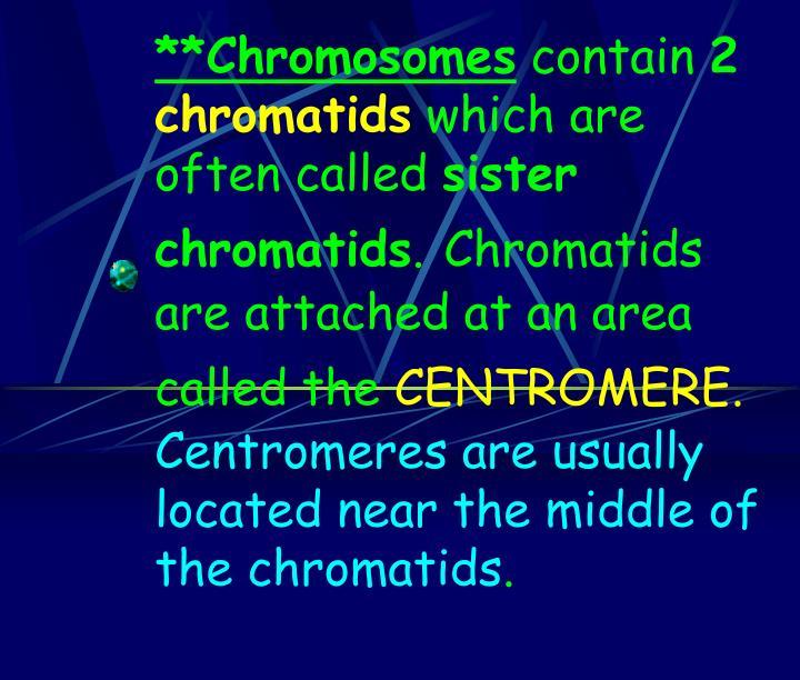 **Chromosomes