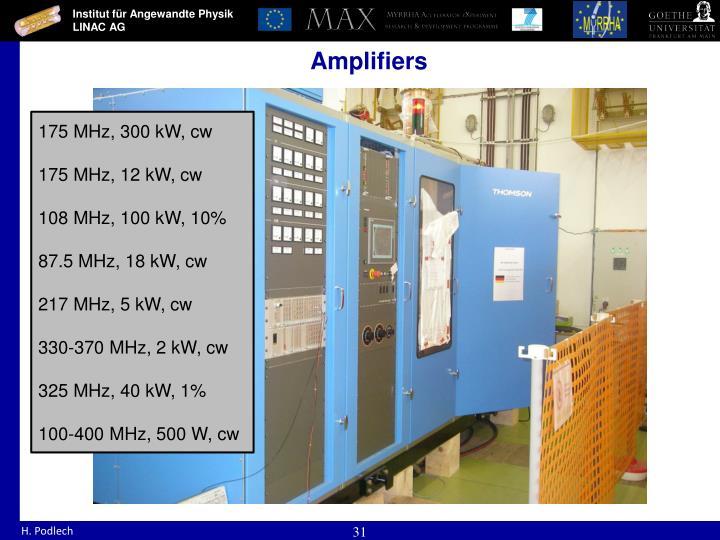175 MHz, 300