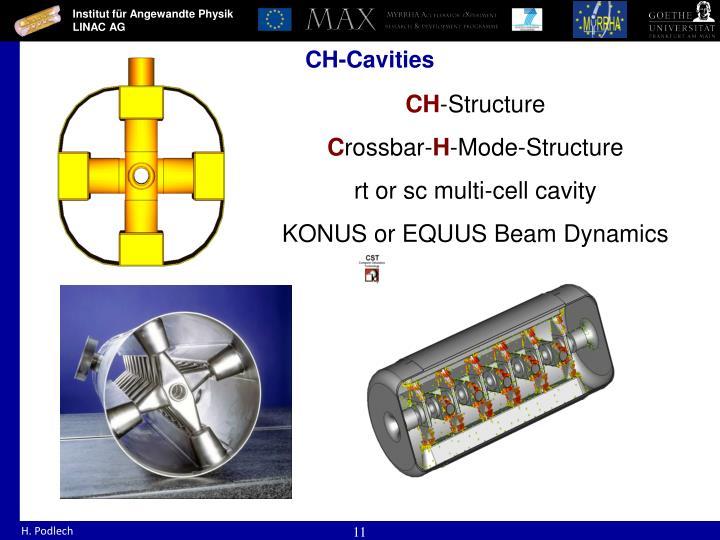 CH-Cavities