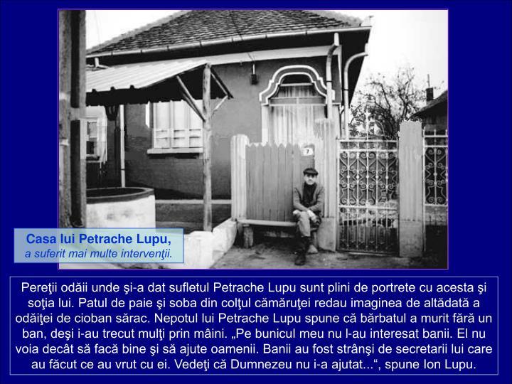Casa lui Petrache Lupu