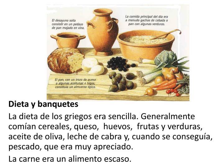 Dieta y banquetes