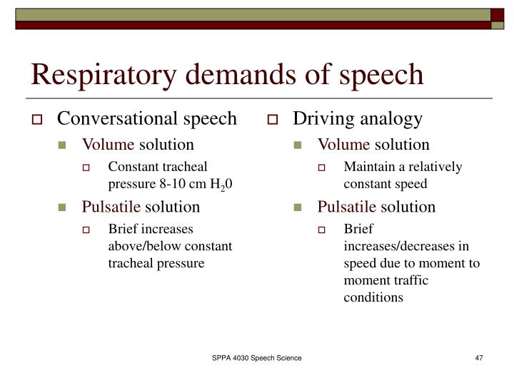 Conversational speech