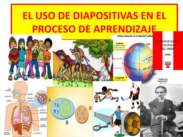 EL USO DE DIAPOSITIVAS EN EL