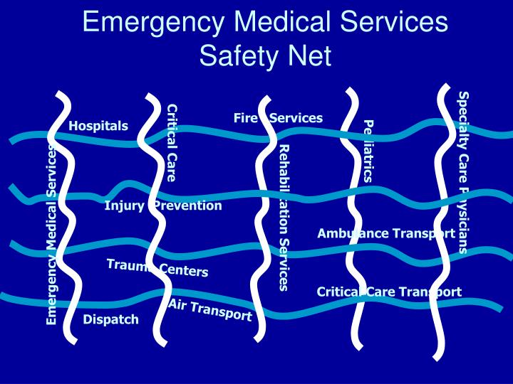 Emergency medical services safety net