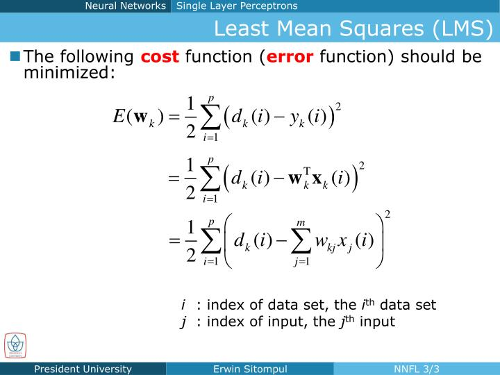 Least mean squares lms