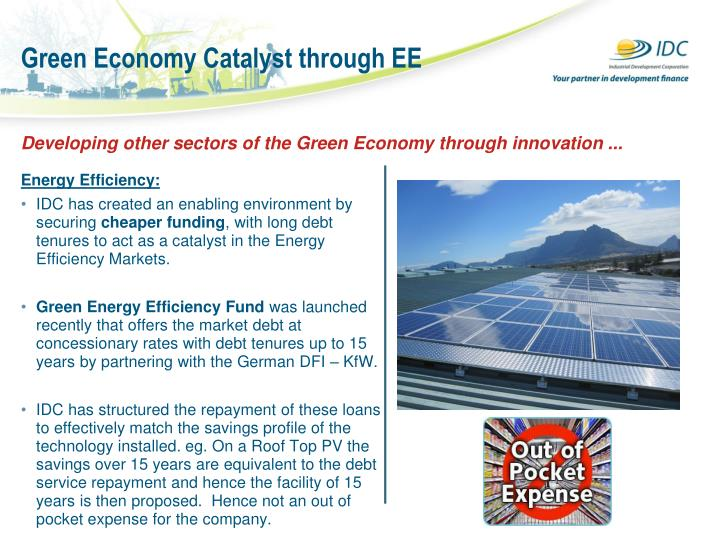 Green Economy Catalyst through EE