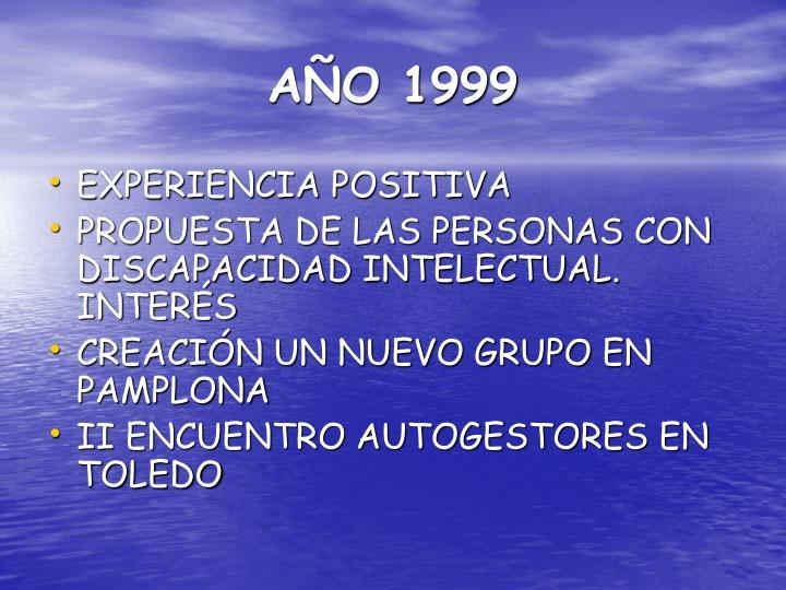 AÑO 1999