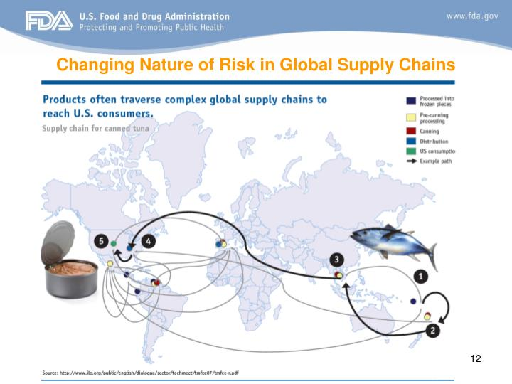Changing Nature of Risk in Global Supply Chains