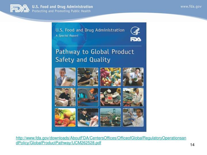 http://www.fda.gov/downloads/AboutFDA/CentersOffices/OfficeofGlobalRegulatoryOperationsandPolicy/GlobalProductPathway/UCM262528.pdf
