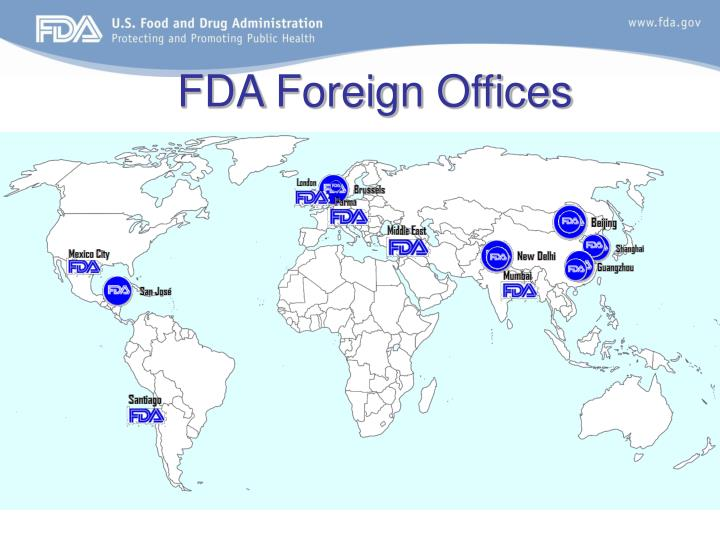 FDA Foreign Offices