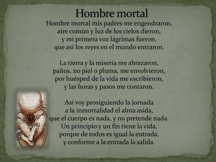 Hombre mortal