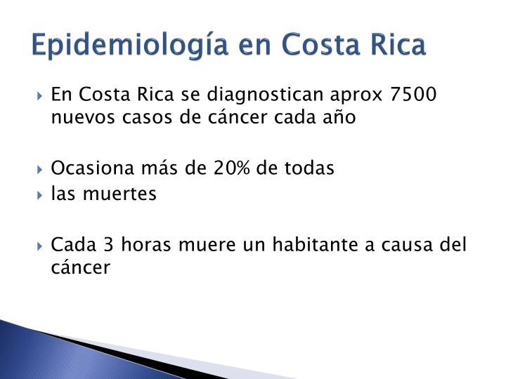 Epidemiología en Costa Rica