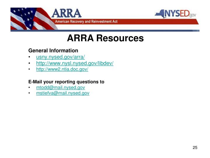 ARRA Resources