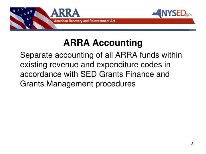 ARRA Accounting