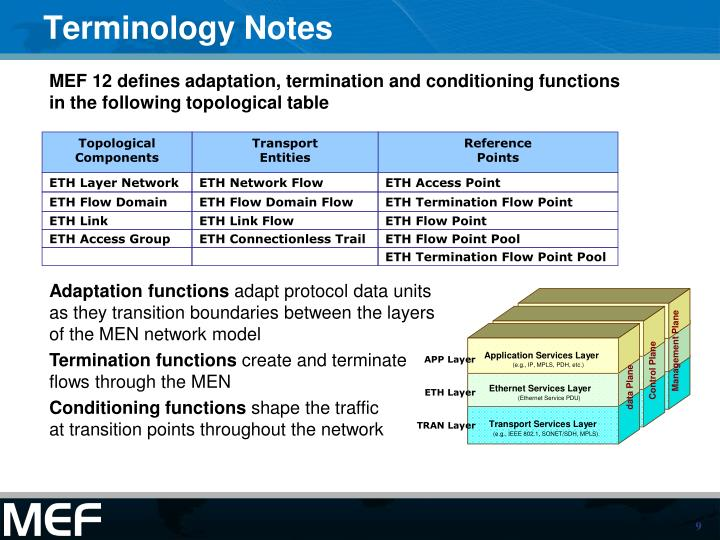 Terminology Notes