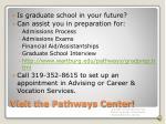 visit the pathways center