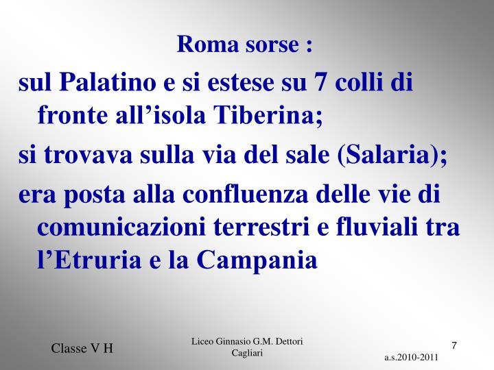 Roma sorse :