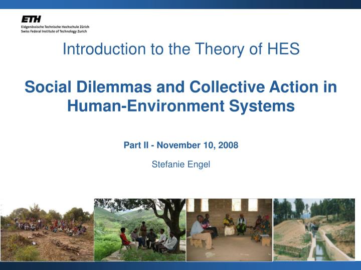 Introduction to the Theory of HES