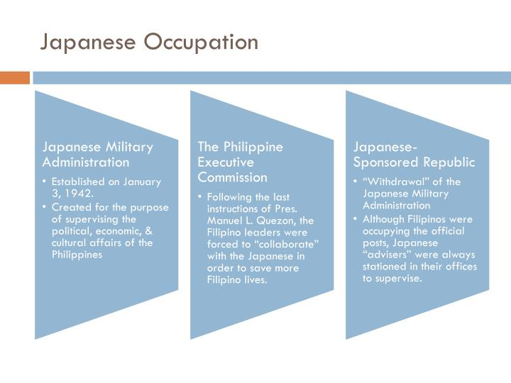 Japanese Occupation