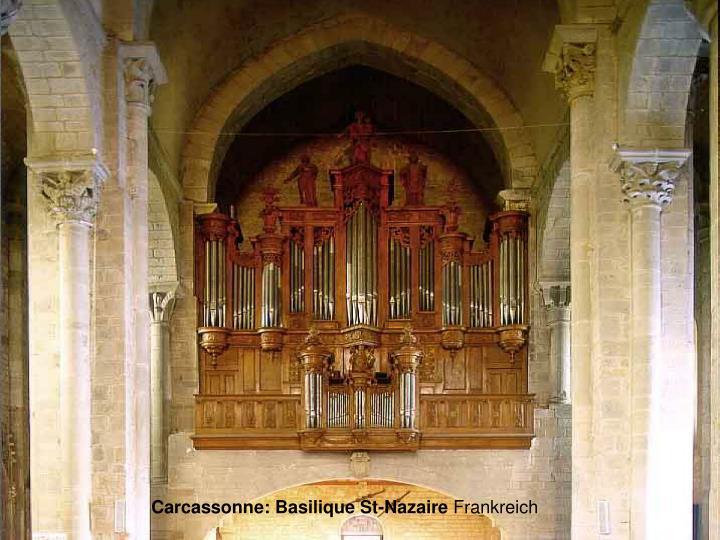Carcassonne: Basilique St-Nazaire