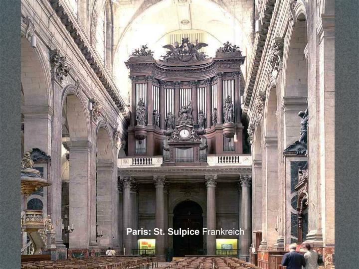 Paris: St. Sulpice