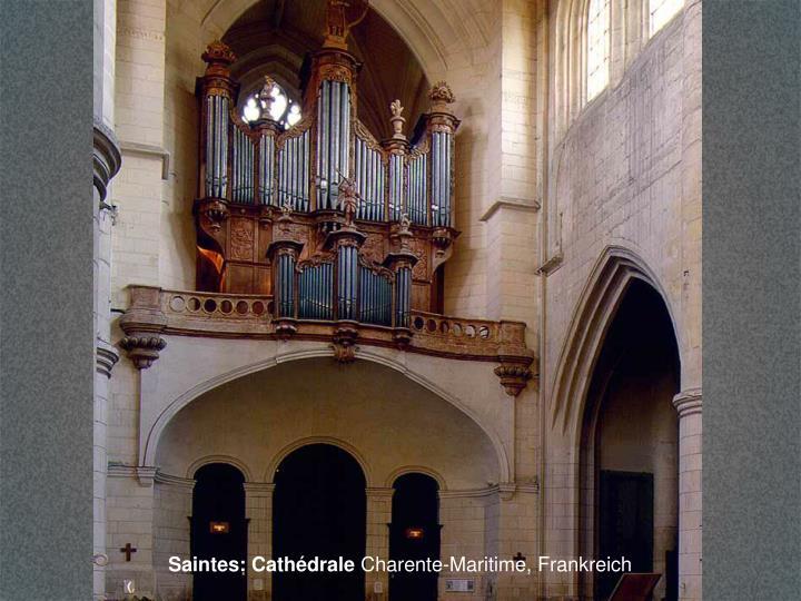 Saintes: Cathédrale