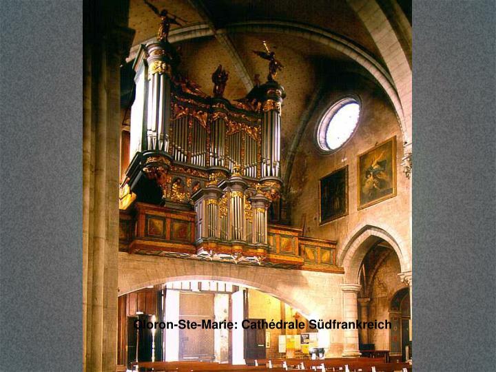 Oloron-Ste-Marie: Cathédrale