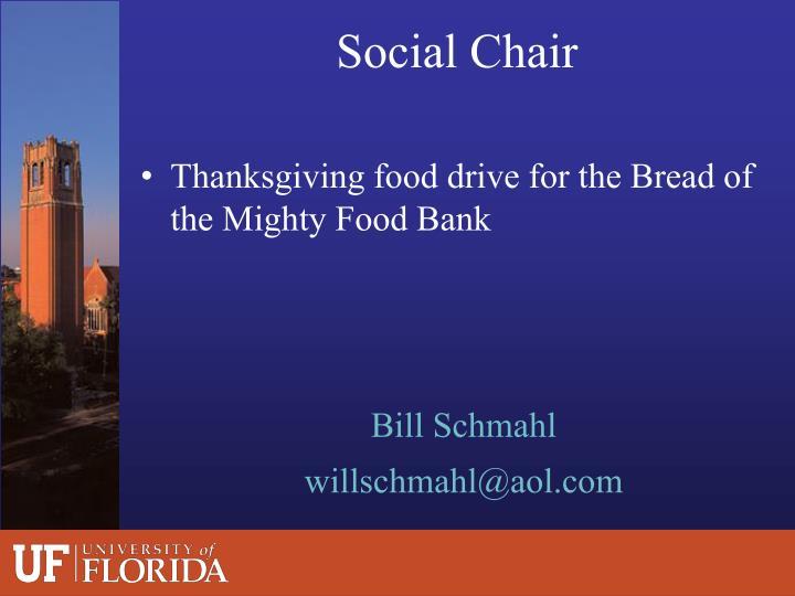 Social Chair