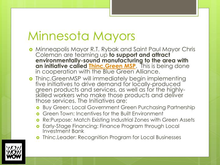 Minnesota Mayors