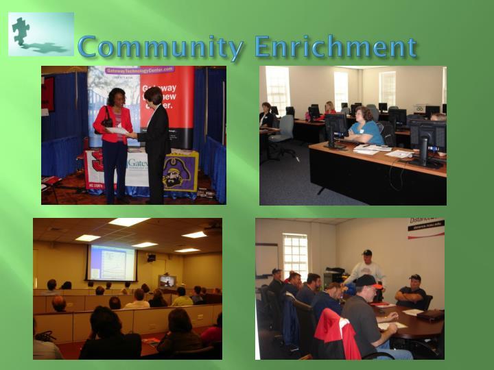 Community Enrichment