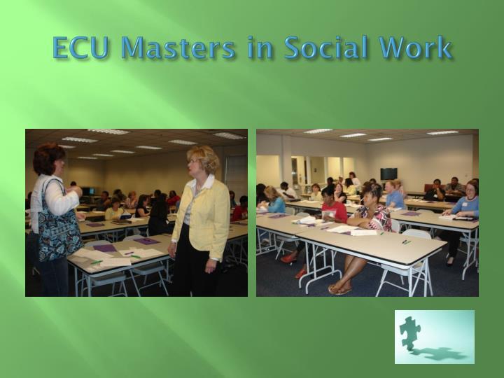 ECU Masters in Social Work