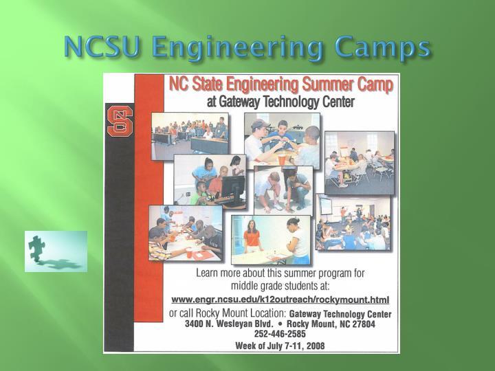 NCSU Engineering Camps