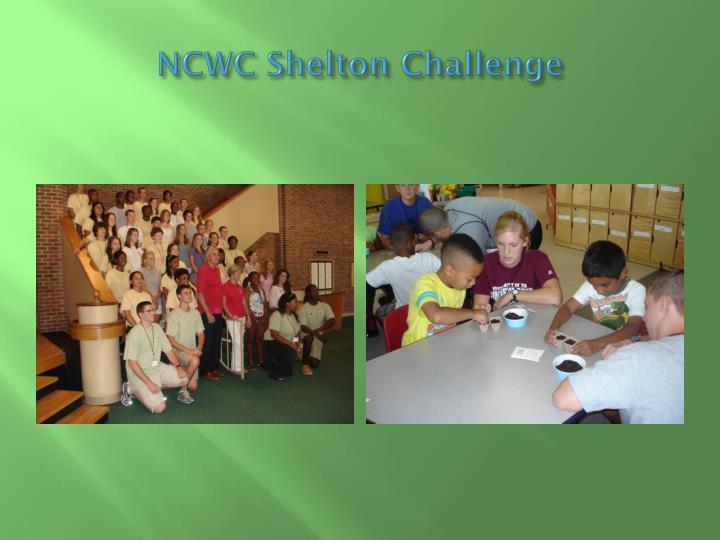 NCWC Shelton Challenge