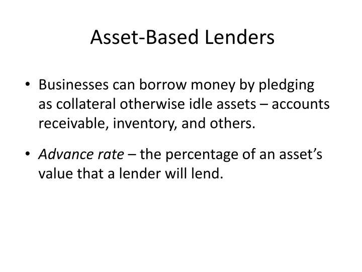 Asset-Based Lenders