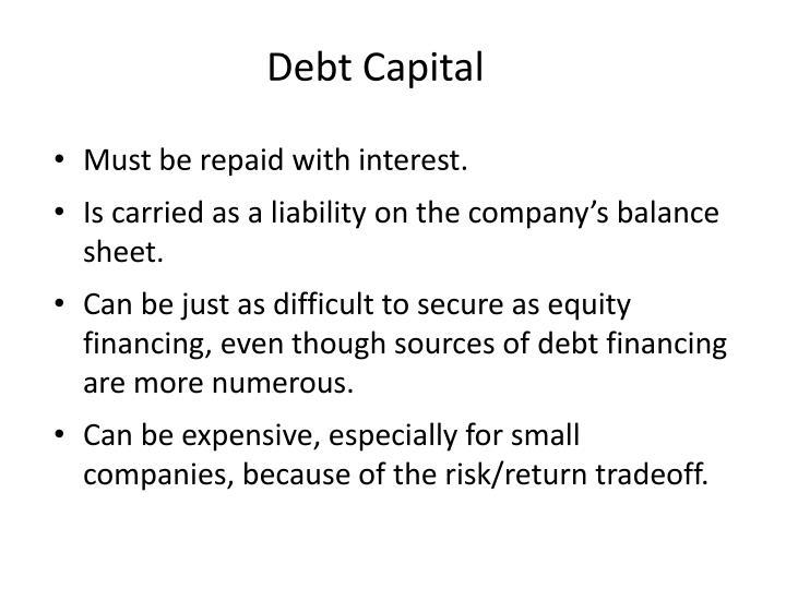 Debt Capital