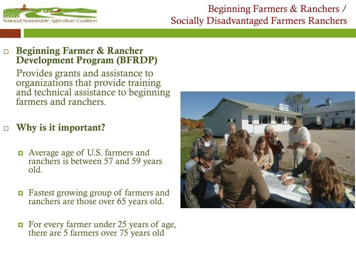 Beginning Farmers & Ranchers /
