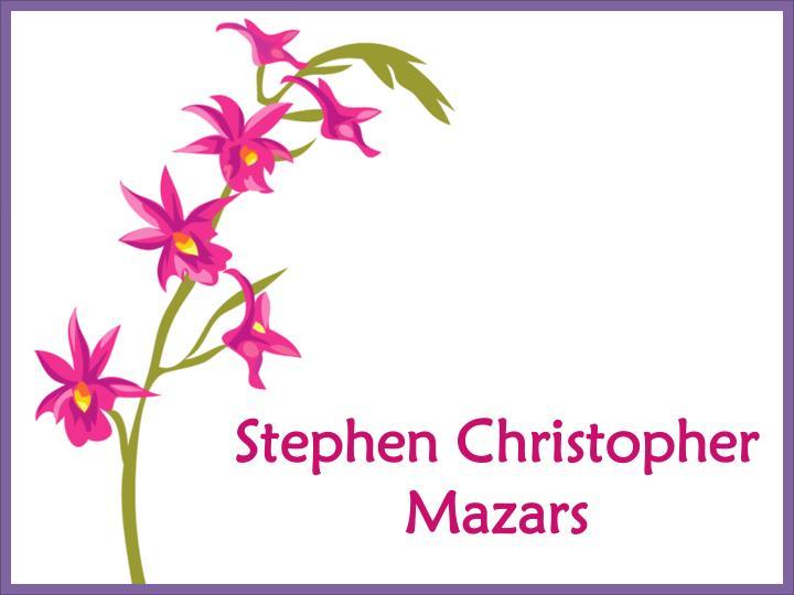 Stephen Christopher