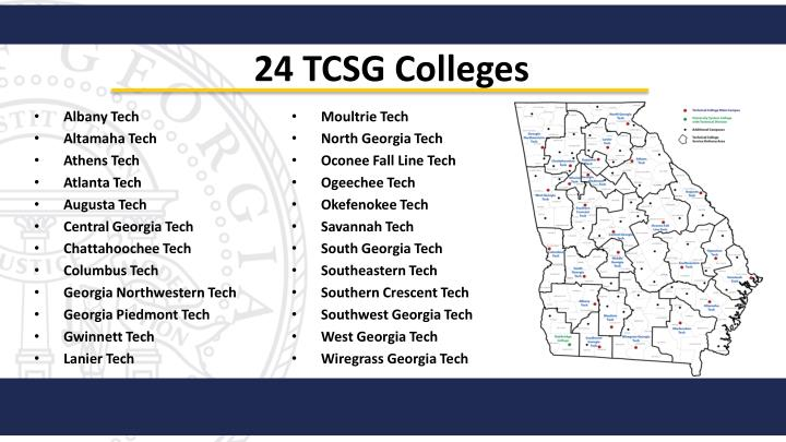 24 TCSG Colleges