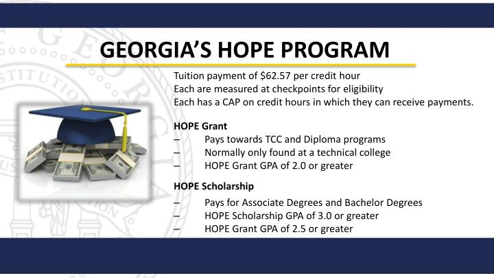 Georgia's HOPE Program